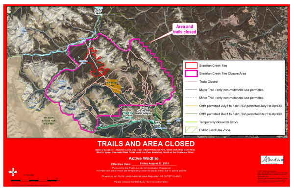 Rocky Forest Area Wildfire Update 5 00 p m August 17 2018