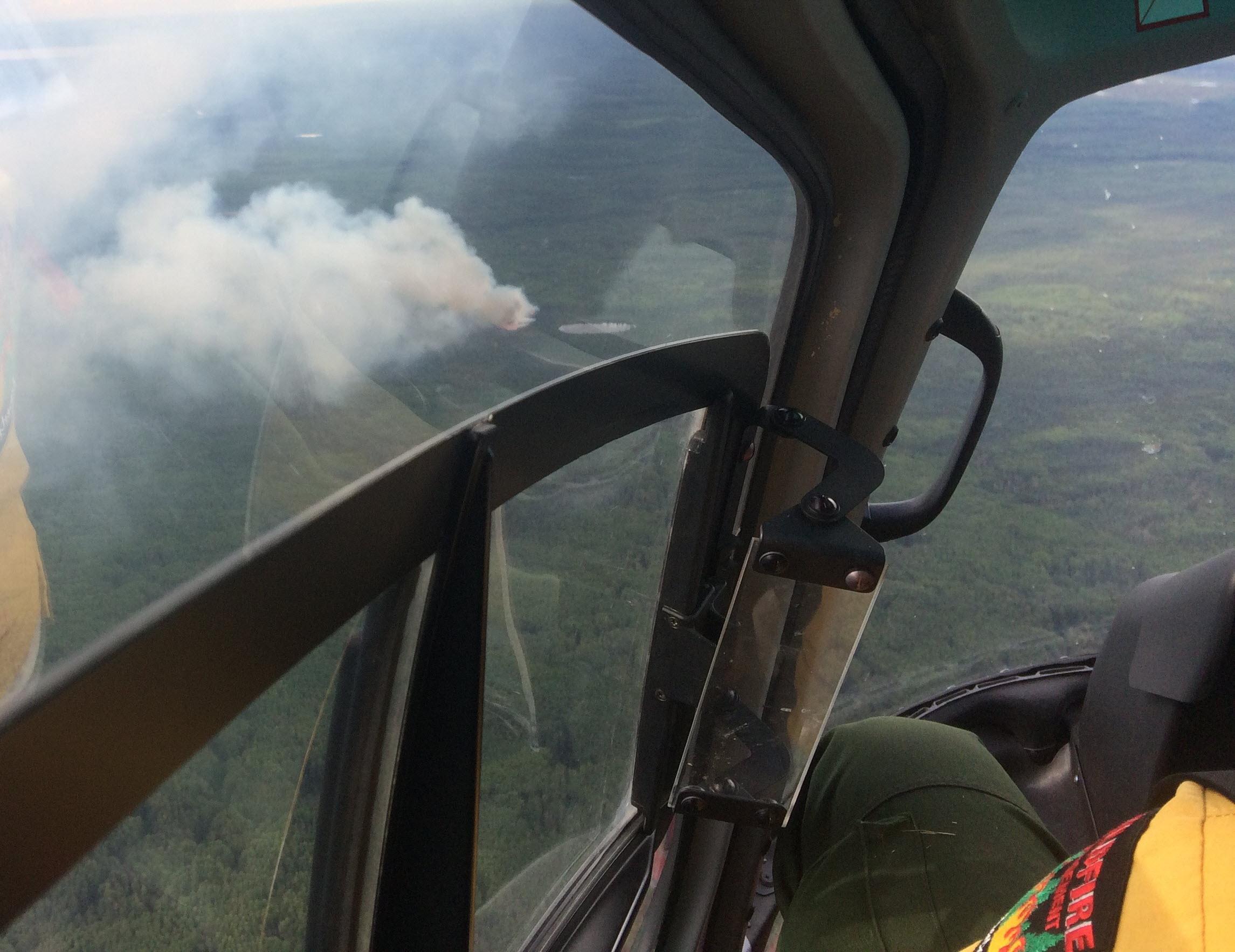 lightning wildfire july 18