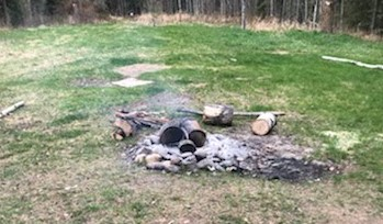 abandoned campfire swf034
